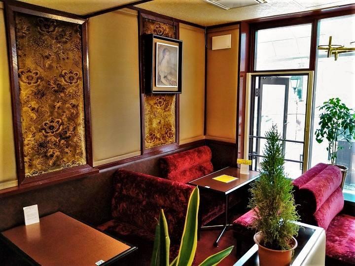 小樽 カフェ あまとう 店内