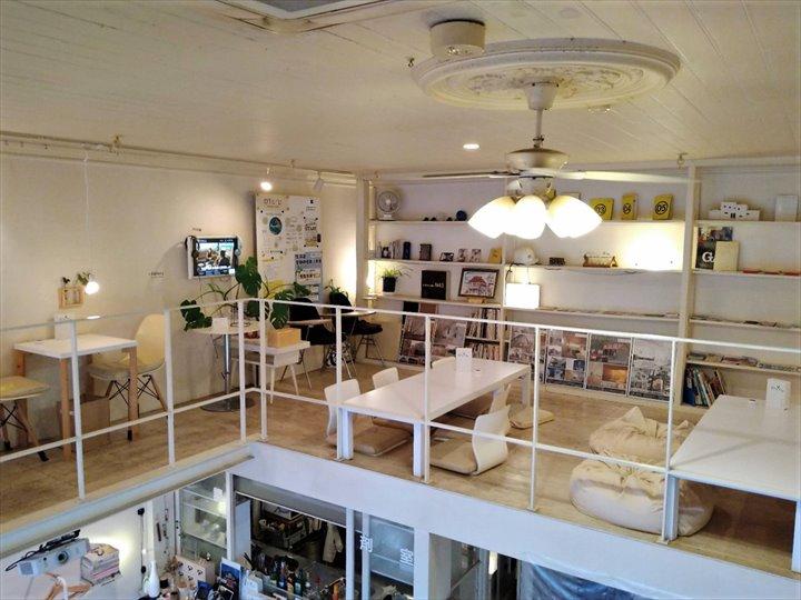 小樽 カフェ white cafe 店内