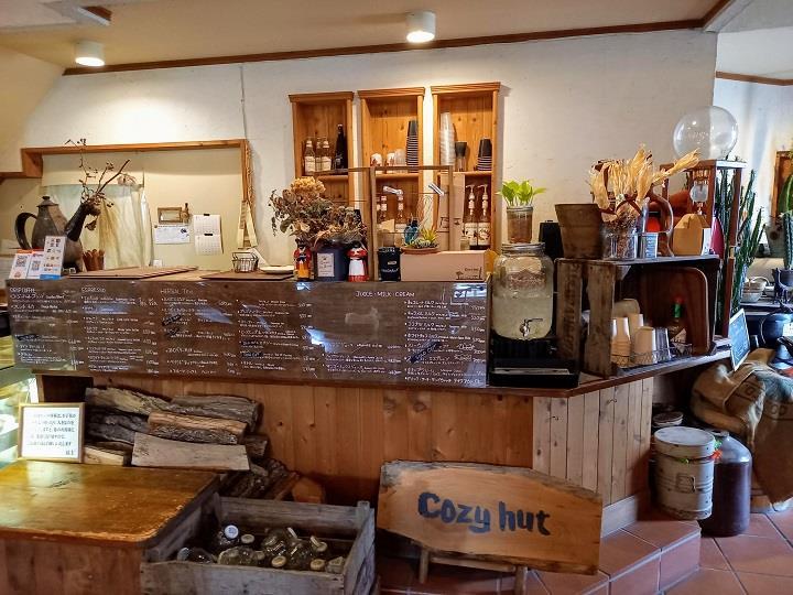 千歳 カフェ cozy hut
