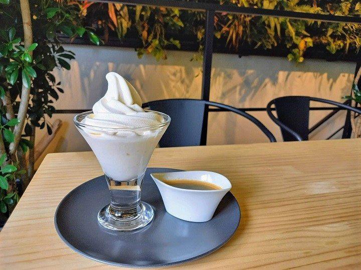札幌 癒し カフェ グラベル アフォガード